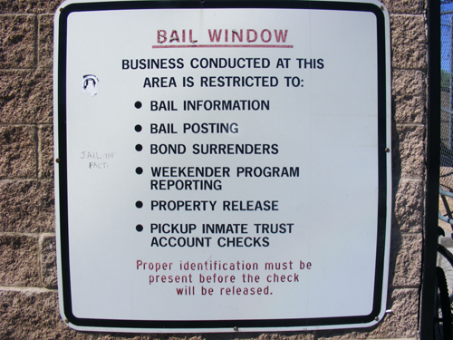 Bail Window Rules - Las Vegas Inmate Detention and Enforcement Center