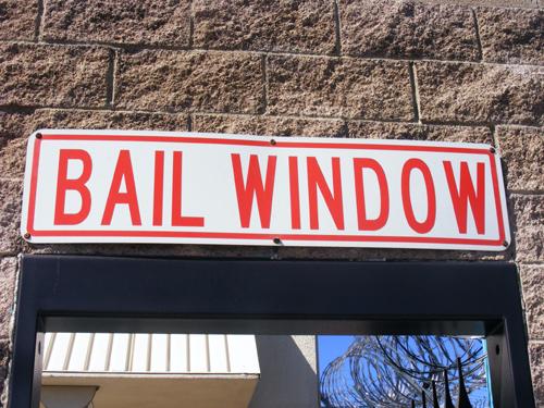 Bail Window - Las Vegas Inmate Detention and Enforcement Center