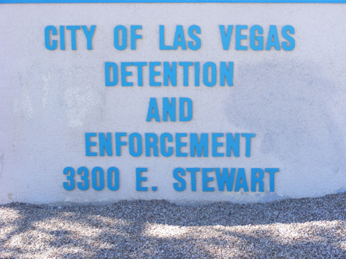 City of Las Vegas Inmate Detention and Enforcement