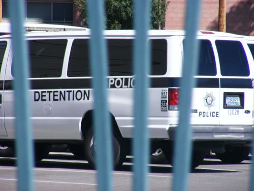 City of Las Vegas Inmate Detention and Enforcement Van
