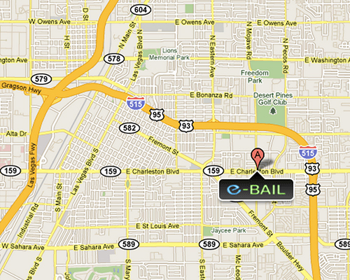 Cheap Las Vegas Bail Bonds Location